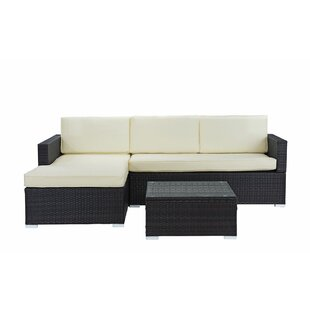 3 Piece Sectional Set with Cushions