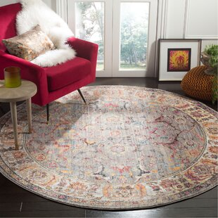 Sahraoui Gray/Light Gray Indoor Area Rug by Bungalow Rose