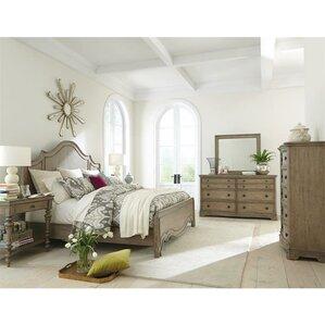 Paredes Panel Customizable Hardwood Bedroom Set