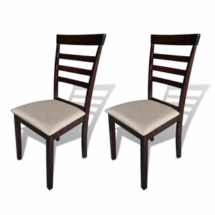 Casserly Solid Wood Dining Chair (Set of 2)