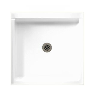 Single Threshold Shower Base With Fit Flo Drain