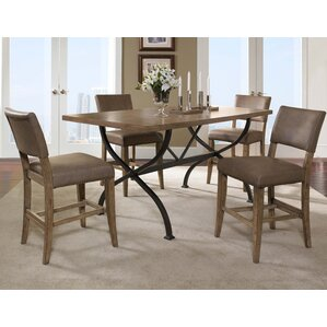 Charleston 5 Piece Counter Height Dining Set by Hillsdale Furniture