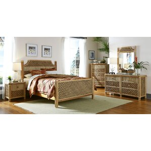 Mandalay Panel 5 Piece Bedroom Set