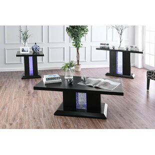 Nickson 3 Piece Coffee Table Set by Latitude Run