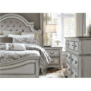 Treport Upholstered Panel Bed