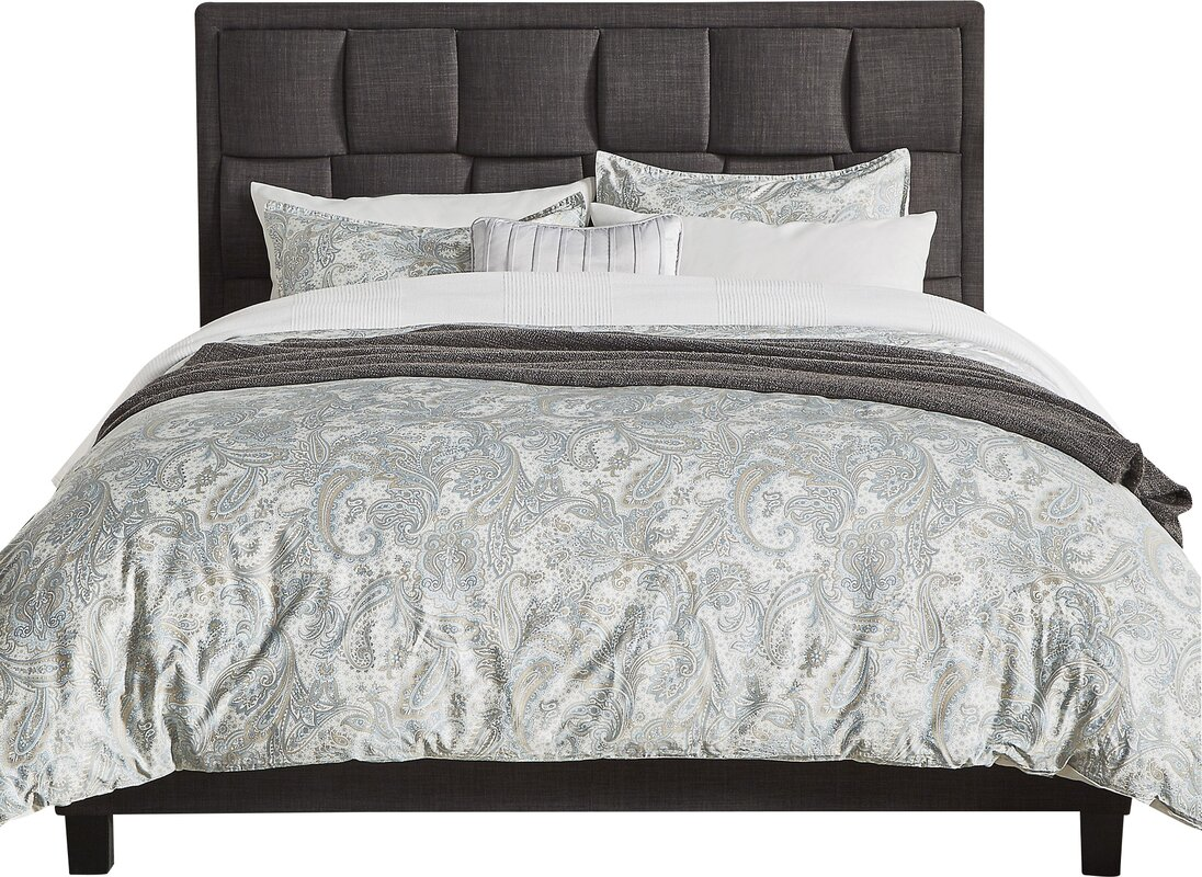 Hulings Upholstered Panel Bed
