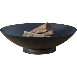 Tureen Steel Charcoal/Wood Burning Fire Pit