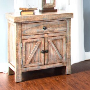 Herman 1 Drawer Nightstand by Loon Peak