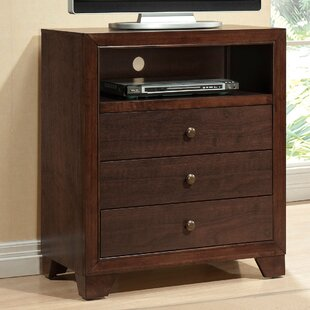 Madison 3 Drawer Media Chest