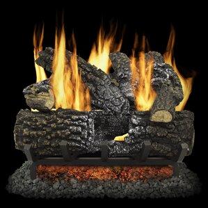 Fireplace Log Sets You'll Love | Wayfair