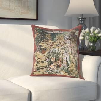 August Grove Giron Flamand Moulin Cotton Pillow Cover Wayfair