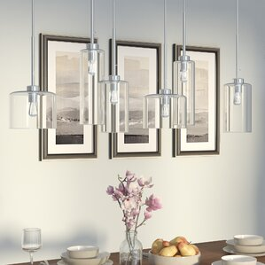 island pendant lighting. siddharth 6light kitchen island pendant lighting
