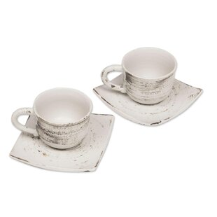 Mccane Rustic Table Cappuccino Cup (Set of 2)