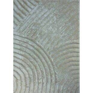 Affordable Shaggy 3D White Area Rug By Rug Factory Plus