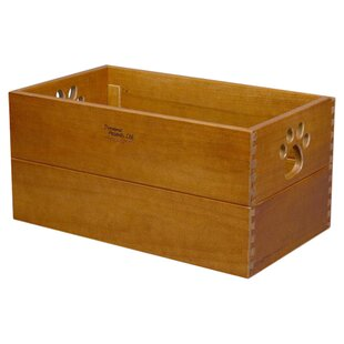 Price Check Trixie Storage Solid Wood Crate By Dynamic Accents