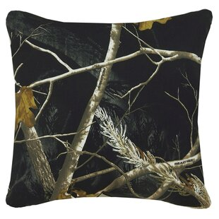 Realtree Camo Cotton Throw Pillow
