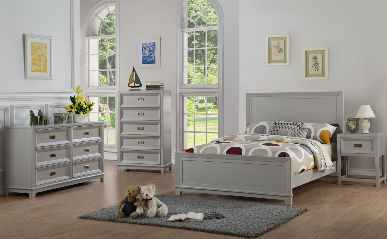 Iesha Panel Configurable Bedroom Set