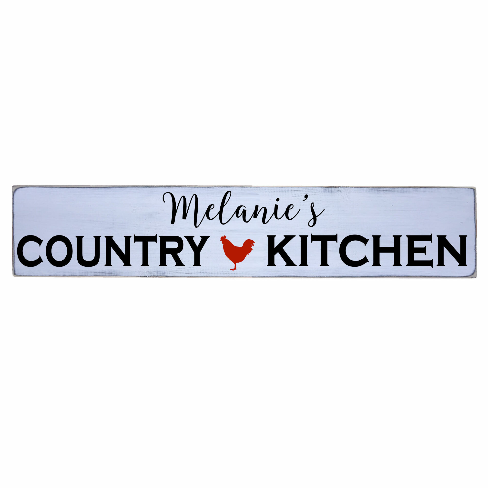 August Grove Personalized Country Kitchen Sign Wall Decor Wayfair