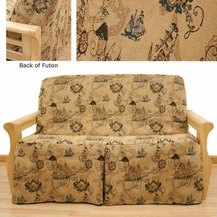 New World Box Cushion Futon Slipcover