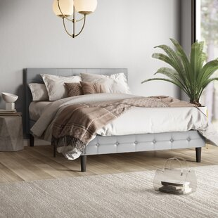 Hanke Upholstered Platform Bed by Mercury Row