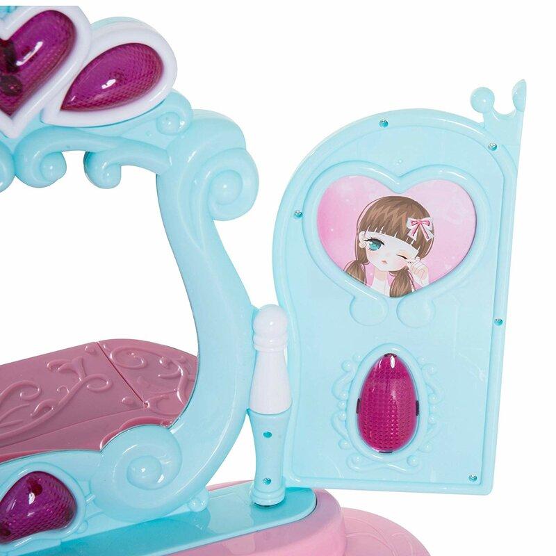 Schminktisch-Set Renee mit Spiegel