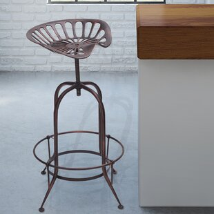 Sasser Adjustable Height Bar Stool by Laurel Foundry Modern Farmhouse
