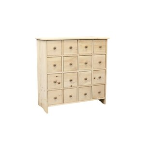 Rendville 16 Drawer Chest by August Grove