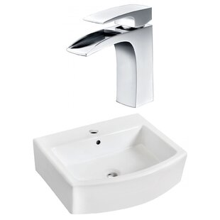Affordable Ceramic 22 Bathroom Sink with Faucet and Overflow By Royal Purple Bath Kitchen