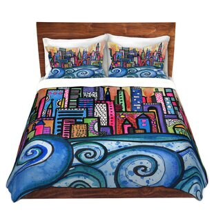 Selph Robin Mead Summer Skyline Microfiber Duvet Covers