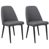 Goggin Upholstered Dining Chair (Set of 2) by Wrought Studio™