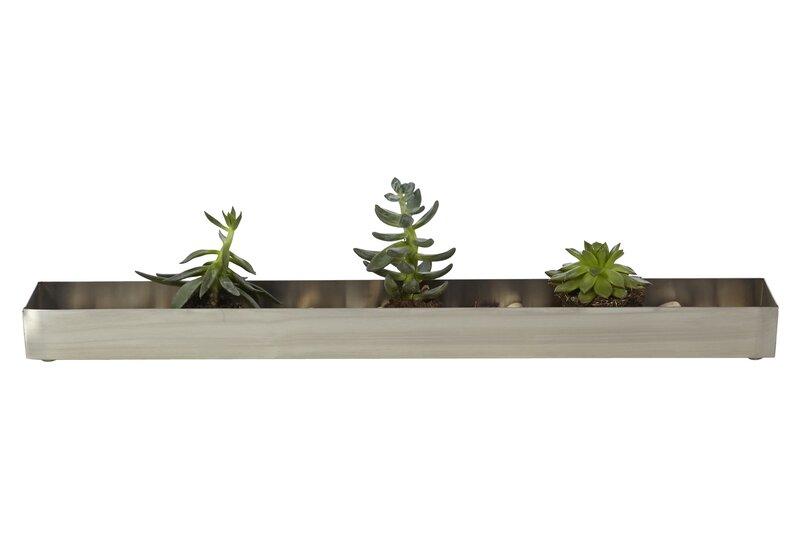 Stainless Steel Planter Box Reviews Allmodern