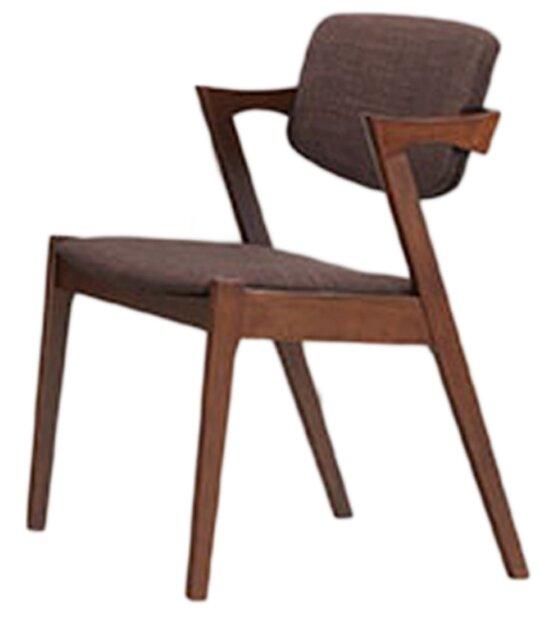 Baxton Studio Elegant Upholstered Side Chair