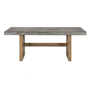 Aanya Countryside Wooden Base Dining Table