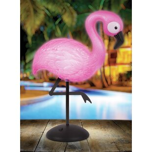 Check Prices Pearmain Flamingo 12 Table Lamp By Bay Isle Home