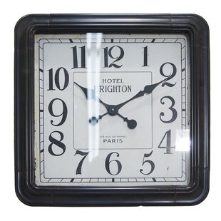 Bean Oversized Vintage Square Wall Clock