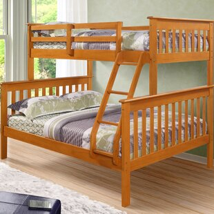 Affordable Solar Twin over Full Bunk Bed By Harriet Bee