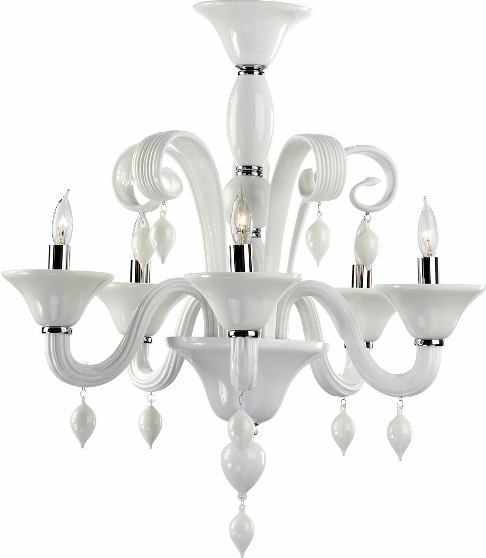 Cyan Design Treviso 5 Light Candle Style Classic Traditional Chandelier Wayfair