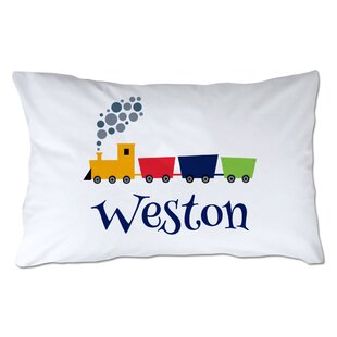Personalized Train Pillowcase