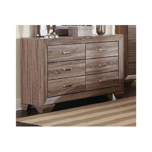 Larabee 6 Drawer Double Dresser