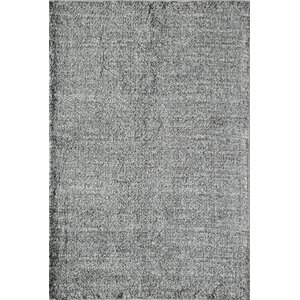 Cozy Midnight & Porcelain Shag Gray Area Rug