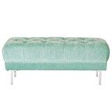 Barrigan Tufted Upholstered Bench by Mercer41