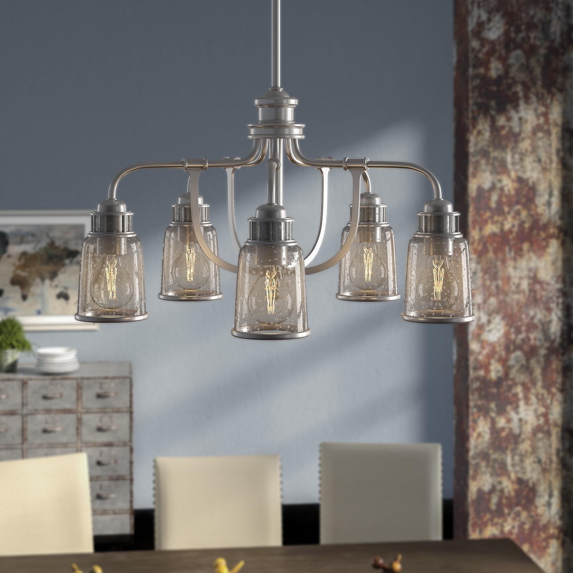 Laurenza Dinette 5 Light Shaded