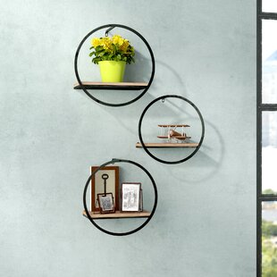 Pomona 3 Piece Wall Shelf Set