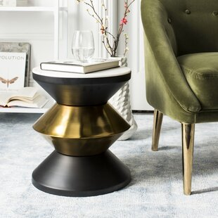 Senters Stone Top End Table