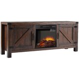 Schaper TV Stand for TVs up to 65 with Electric Fireplace Included by Loon Peak®