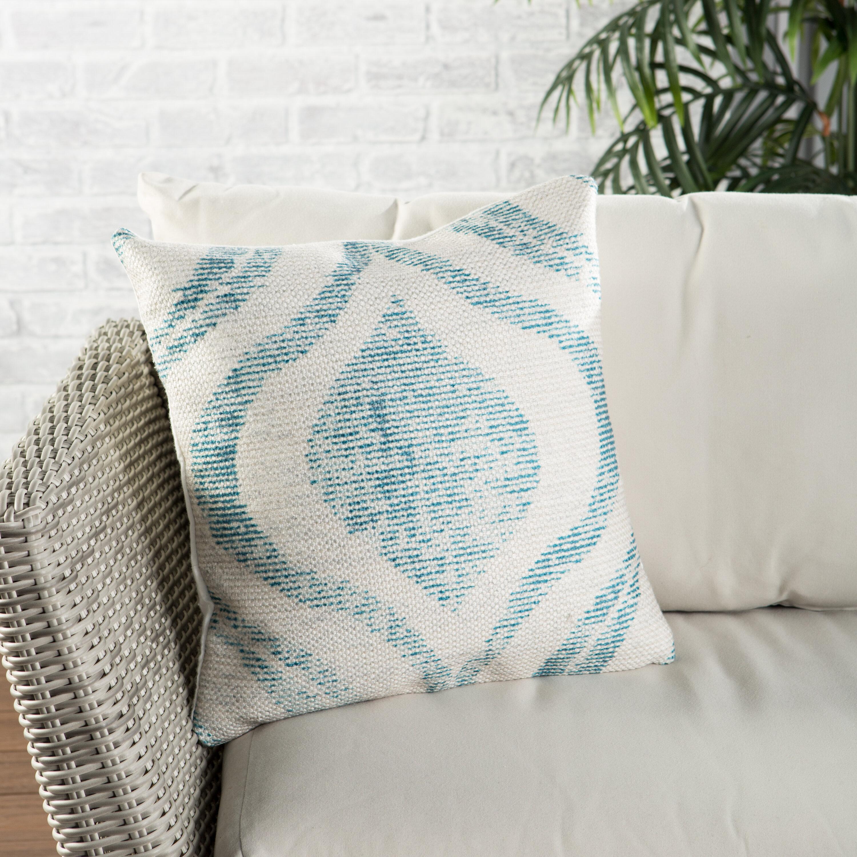 Nikki Chu Indoor Outdoor Geometric Throw Pillow Wayfair