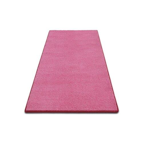 Future Tense Custom Velour Pink Rug Ebern Designs Rug Size: