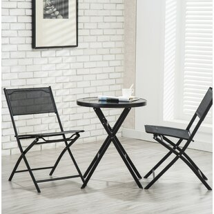Bermuda 3 Piece Patio Bistro Set