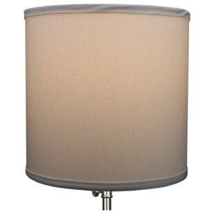 10.5 Linen Drum Lamp Shade