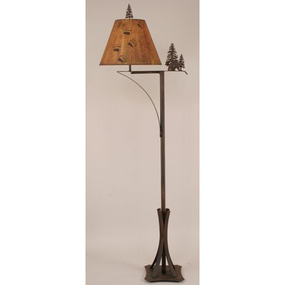 "Coast Lamp Mfg. Rustic Living 64.5"" Task Floor Lamp"